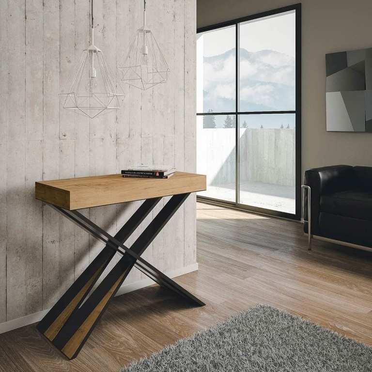 Console Extensible Itamoby Diago 90x77 x40cm