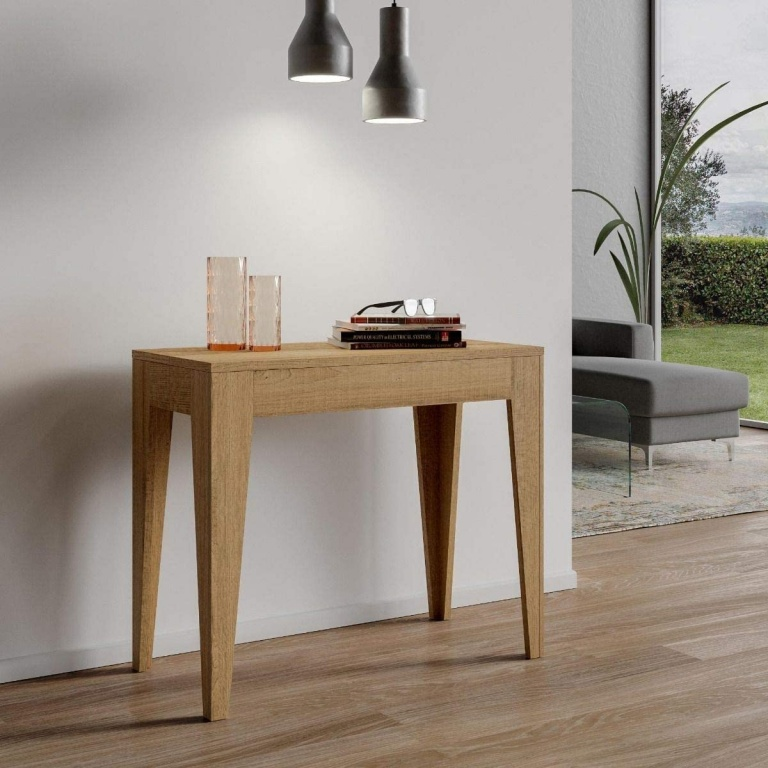 Table console extensible Itamoby Isotta 90x42x77