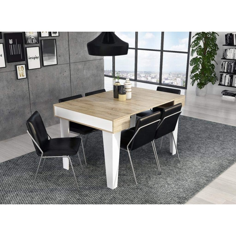 Table Console Extensible rectangulaire Nordic KL